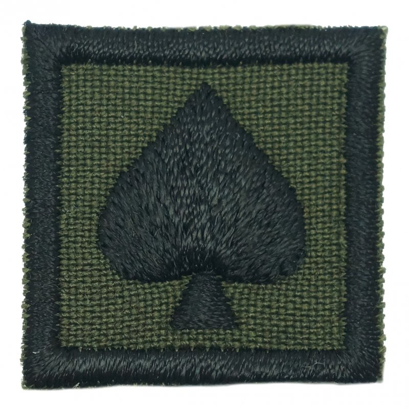 "1"" MINI SPADE PATCH - OD - Hock Gift Shop 