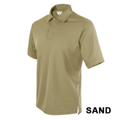 CONDOR PERFORMANCE TACTICAL POLO T-SHIRT - SAND