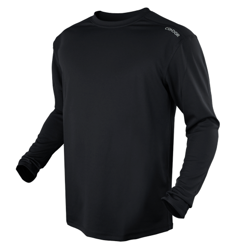CONDOR MAXFORT LONG SLEEVE TRAINING TOP - BLACK