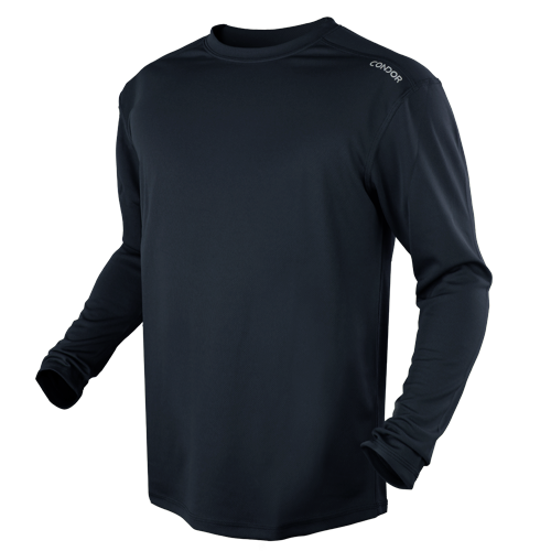 CONDOR MAXFORT LONG SLEEVE TRAINING TOP - NAVY BLUE