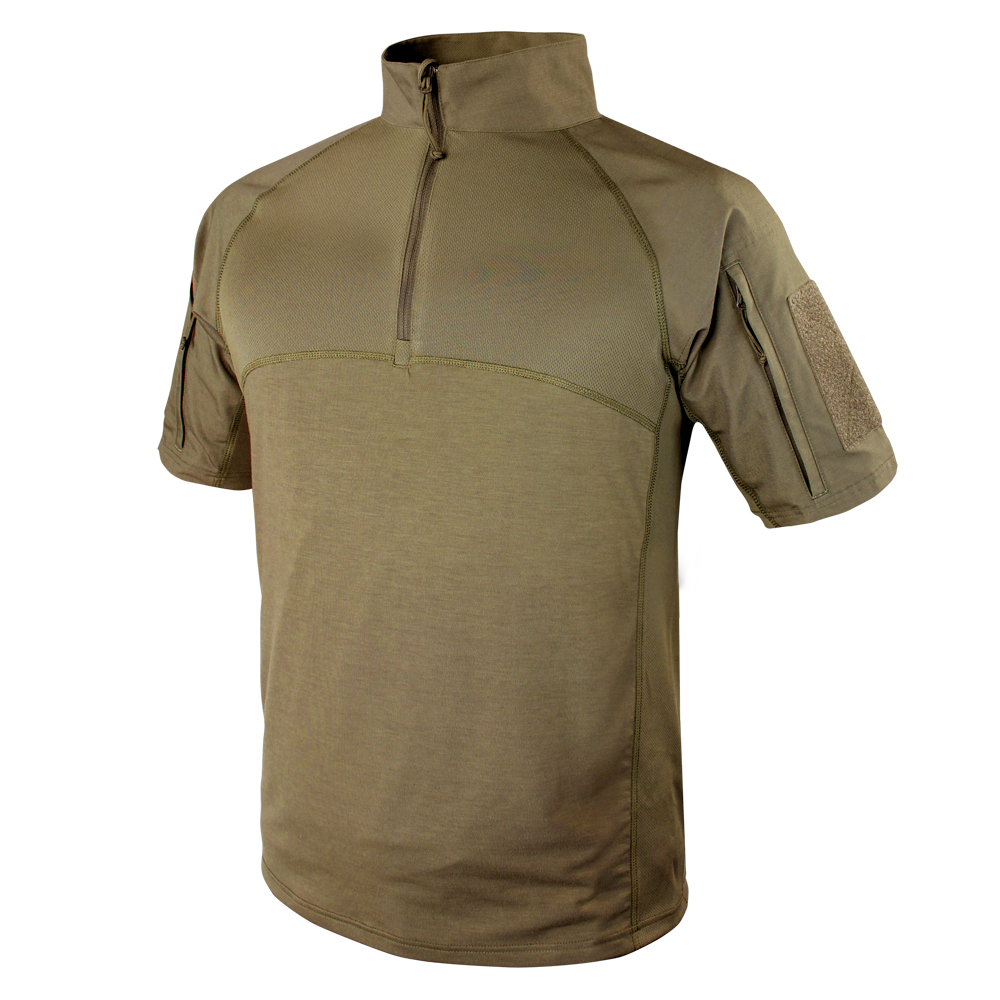 CONDOR SHORT SLEEVE COMBAT SHIRT - TAN