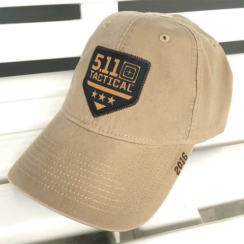 5.11 TACTICAL 2016 BALL CAP - COYOTE - Hock Gift Shop | Army Online Store in Singapore