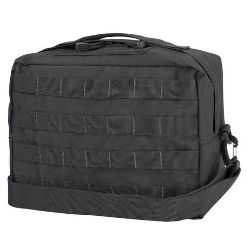 CONDOR UTILITY SHOULDER BAG - BLACK