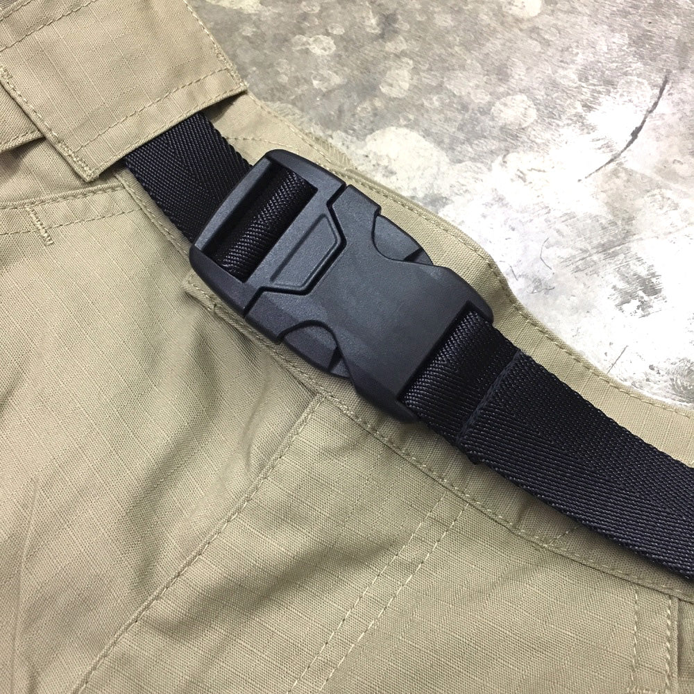 "1"" COVERT BUCKLE BELT - BLACK"