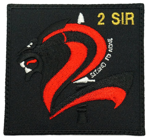 2 SIR LOGO PATCH - BLACK