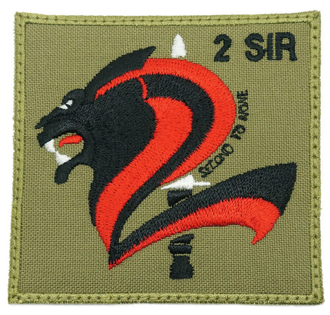 2 SIR LOGO PATCH - OLIVE GREEN