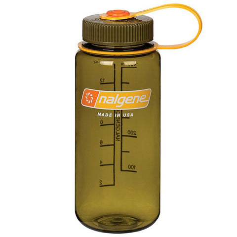 NALGENE WIDE MOUTH 400 ML - OLIVE
