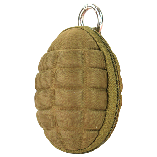 CONDOR GRENADE KEYCHAIN POUCH - COYOTE BROWN