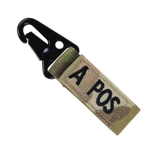 CONDOR BLOOD TYPE KEY CHAIN - MULTICAM