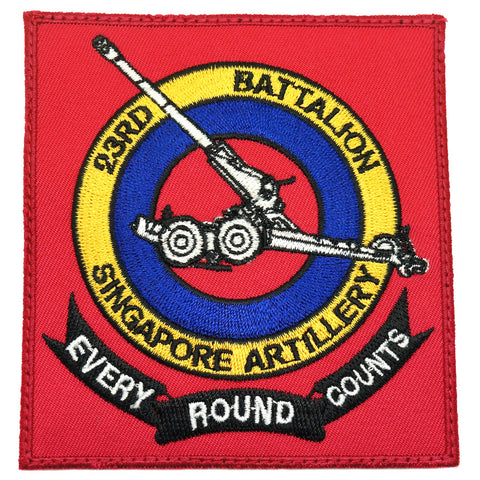 23 SA EVERY ROUND COUNTS LOGO PATCH
