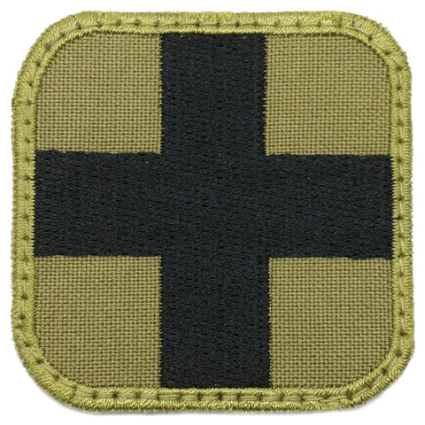 "2"" MEDIC PATCH - OLIVE GREEN"