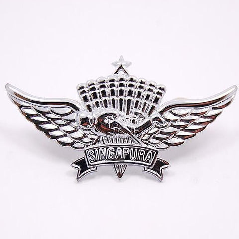 SAF #3 PIN - BASIC MILITARY FREEFALL - Hock Gift Shop | Army Online Store in Singapore