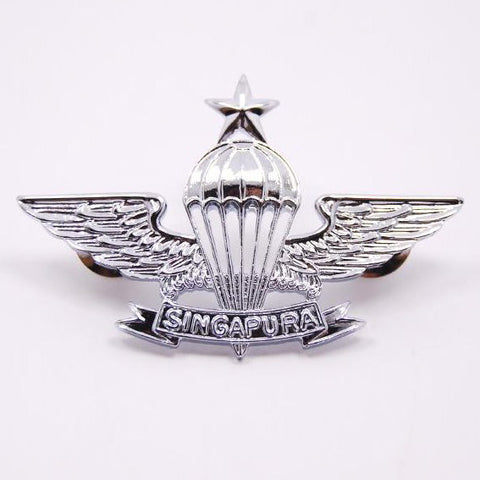 SAF #3 PIN - SENIOR PARACHUTIST - Hock Gift Shop | Army Online Store in Singapore