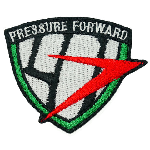 41 SAR LOGO PATCH - PRESSURE FORWARD