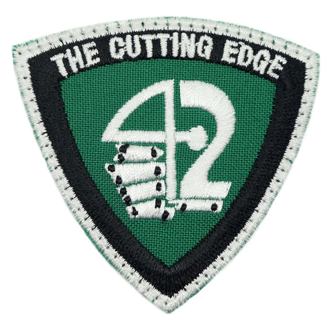 42 SAR LOGO PATCH - THE CUTTING EDGE