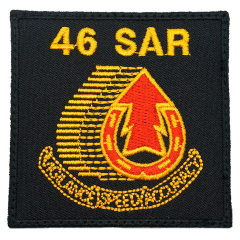 46 SAR LOGO PATCH - VIGILANCE SPEED ACCURACY