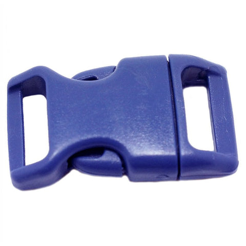 4CM CONTOURED CURVED PLASTIC BUCKLE - NAVY BLUE
