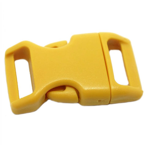4CM CONTOURED CURVED PLASTIC BUCKLE - GOLDEN ROD - Hock Gift Shop | Army Online Store in Singapore
