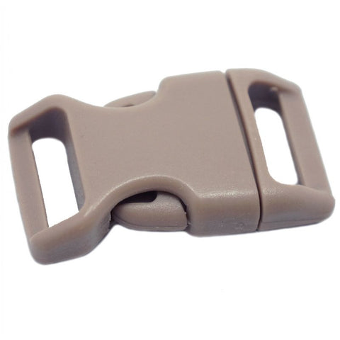 4CM CONTOURED CURVED PLASTIC BUCKLE - KHAKI - Hock Gift Shop | Army Online Store in Singapore