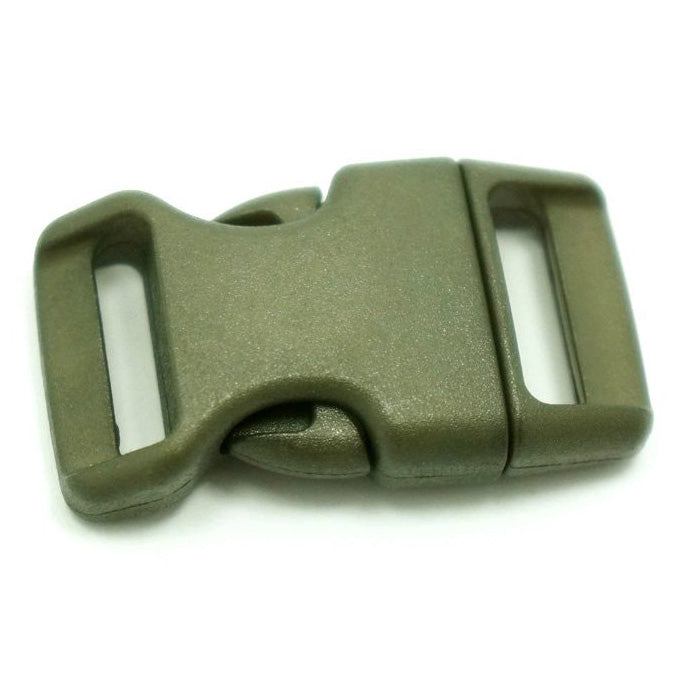 4CM CONTOURED CURVED PLASTIC BUCKLE - OD GREEN - Hock Gift Shop | Army Online Store in Singapore