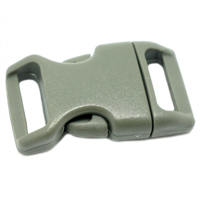 4CM CONTOURED CURVED PLASTIC BUCKLE - OLIVE - Hock Gift Shop | Army Online Store in Singapore