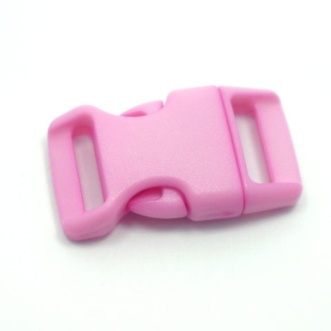 4CM CONTOURED CURVED PLASTIC BUCKLE - PRETTY PINK - Hock Gift Shop | Army Online Store in Singapore