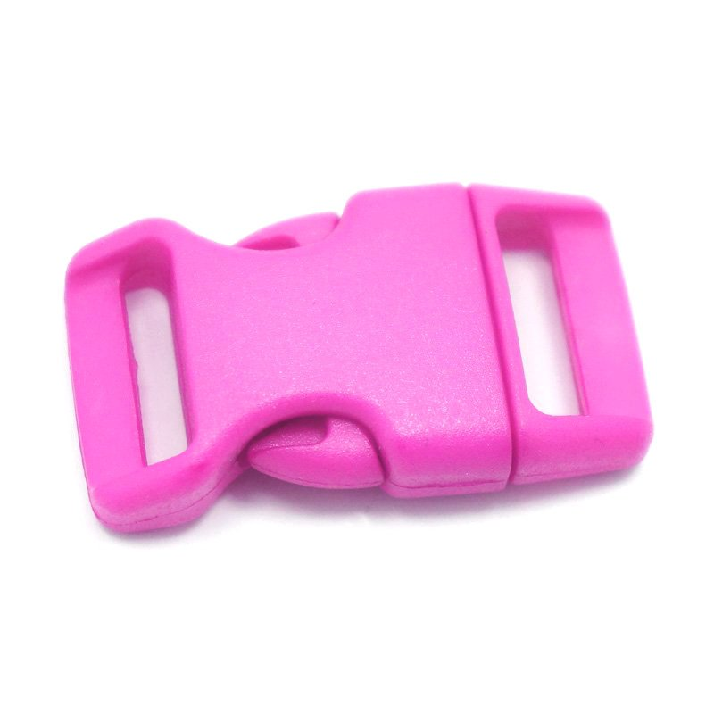 4CM CONTOURED CURVED PLASTIC BUCKLE - ROSE PINK - Hock Gift Shop | Army Online Store in Singapore