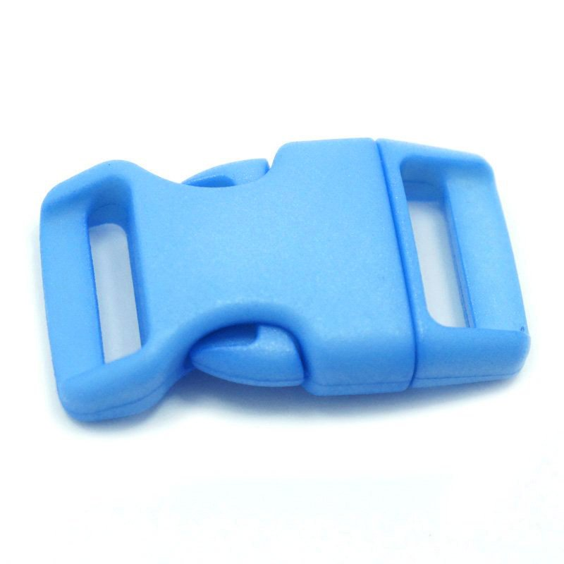 4CM CONTOURED CURVED PLASTIC BUCKLE - SKY BLUE - Hock Gift Shop | Army Online Store in Singapore
