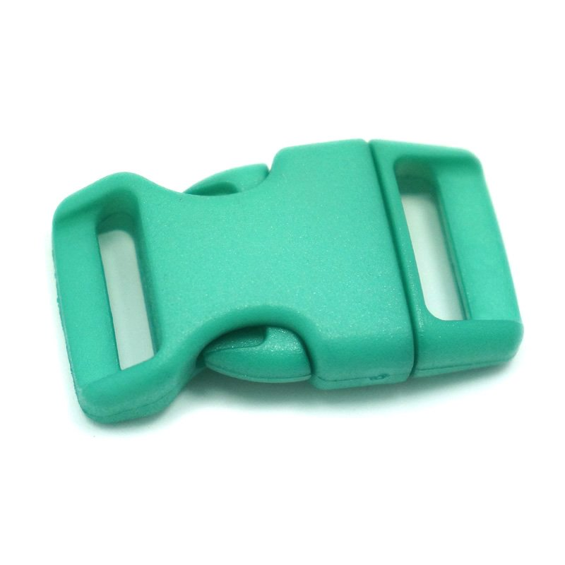 4CM CONTOURED CURVED PLASTIC BUCKLE - TEAL - Hock Gift Shop | Army Online Store in Singapore