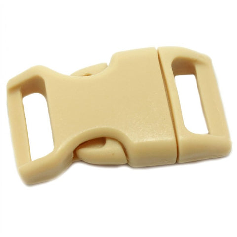 4CM CONTOURED CURVED PLASTIC BUCKLE - VANILLA - Hock Gift Shop | Army Online Store in Singapore