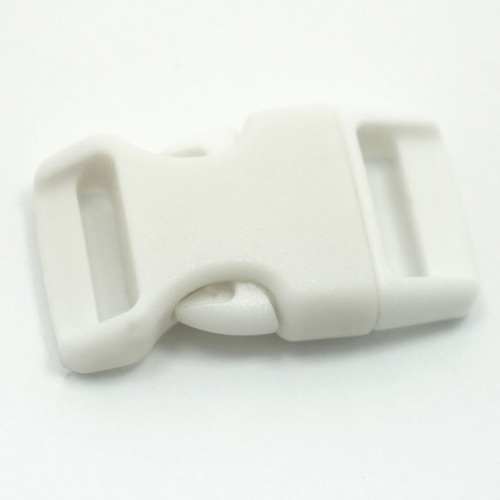 4CM CONTOURED CURVED PLASTIC BUCKLE - WHITE - Hock Gift Shop | Army Online Store in Singapore