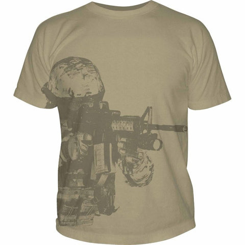 5.11 WATCHER T-SHIRT - TAN - Hock Gift Shop | Army Online Store in Singapore