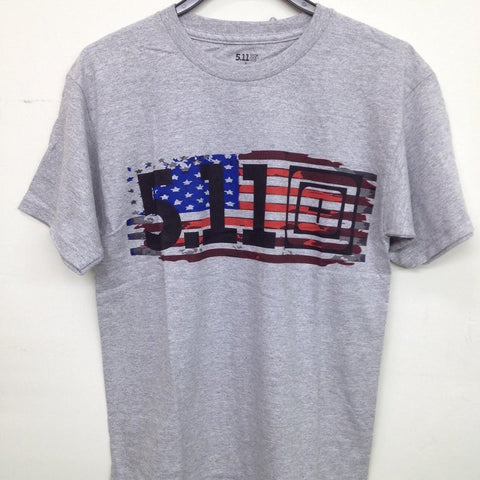 5.11 OLD GLORY T-SHIRT - HEATHER
