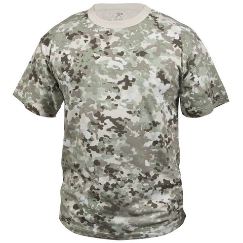ROTHCO CAMO T-SHIRT - TOTAL TERRAIN CAMO - Hock Gift Shop | Army Online Store in Singapore