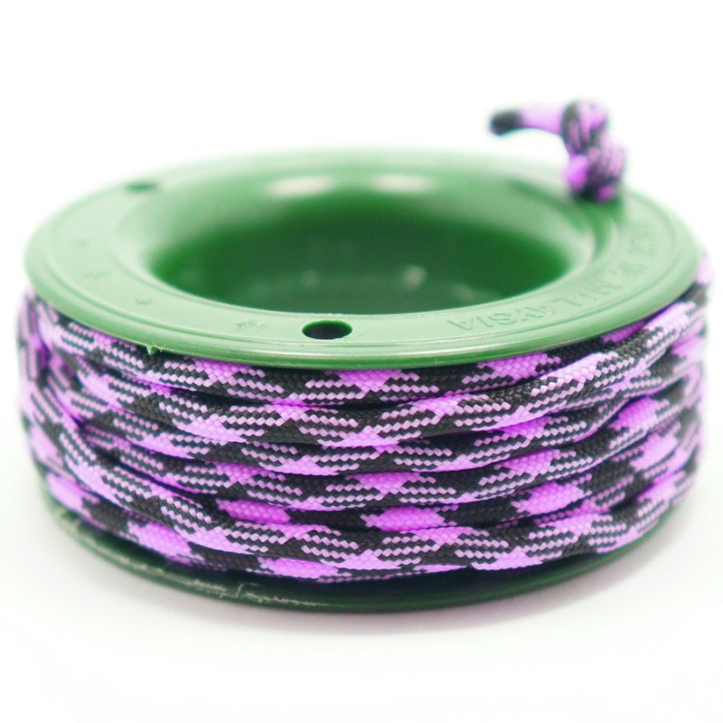 550 PARACORD MINI SPOOL - BLACK MAGENTA - Hock Gift Shop | Army Online Store in Singapore