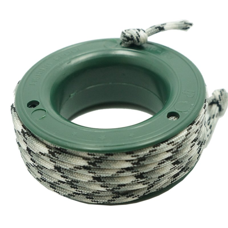 550 PARACORD MINI SPOOL - BLACK WHITE KING SNAKE - Hock Gift Shop | Army Online Store in Singapore