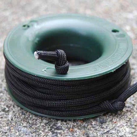 550 PARACORD MINI SPOOL - BLACK - Hock Gift Shop | Army Online Store in Singapore