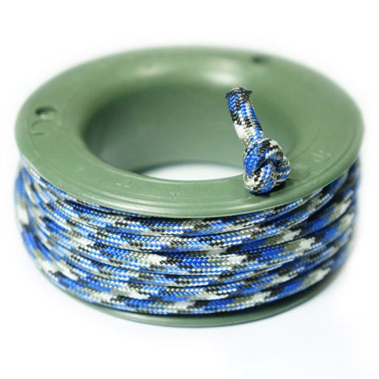 550 PARACORD MINI SPOOL - BLUE CAMO - Hock Gift Shop | Army Online Store in Singapore
