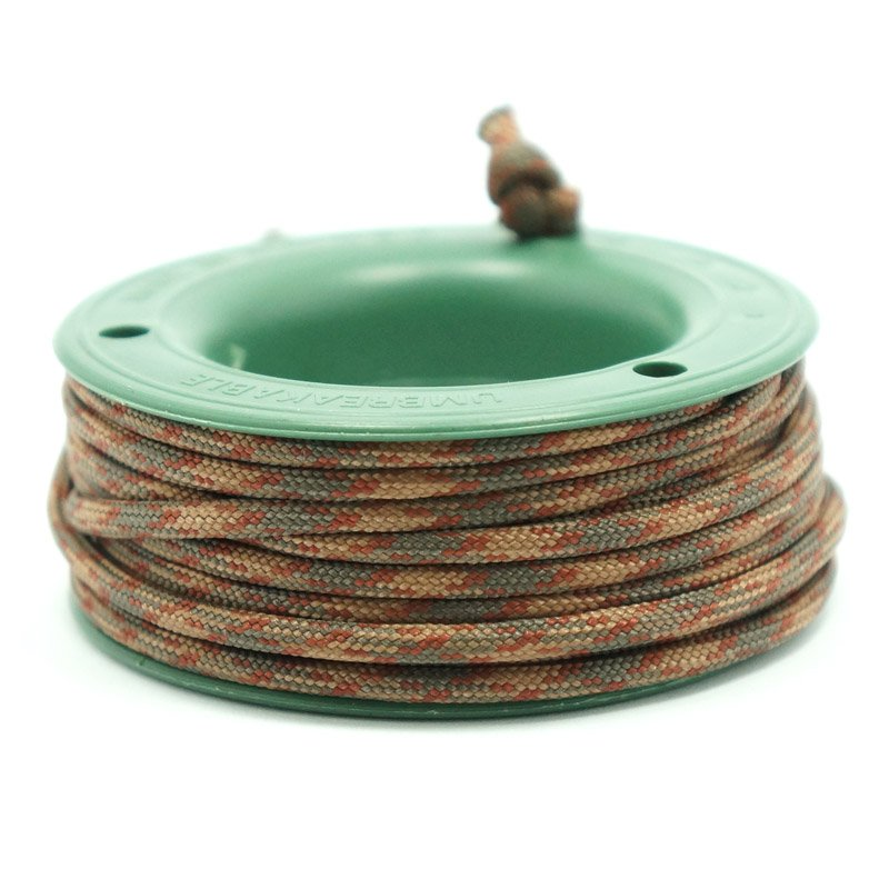 550 PARACORD MINI SPOOL - BROWN SNAKE - Hock Gift Shop | Army Online Store in Singapore