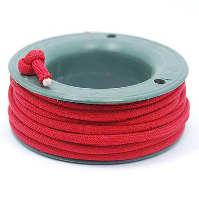 550 PARACORD MINI SPOOL - CHILLI RED - Hock Gift Shop | Army Online Store in Singapore