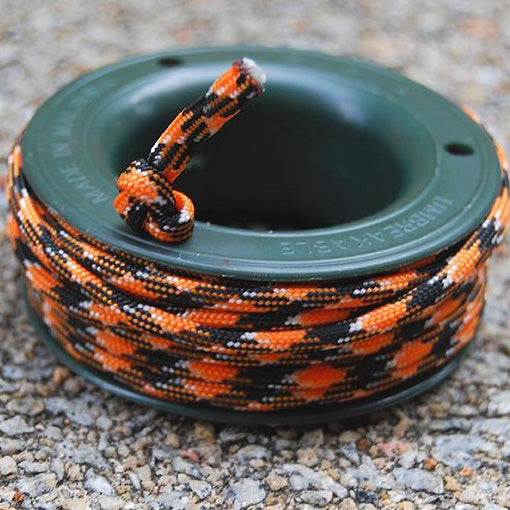 550 PARACORD MINI SPOOL - CLOWN LOACH - Hock Gift Shop | Army Online Store in Singapore