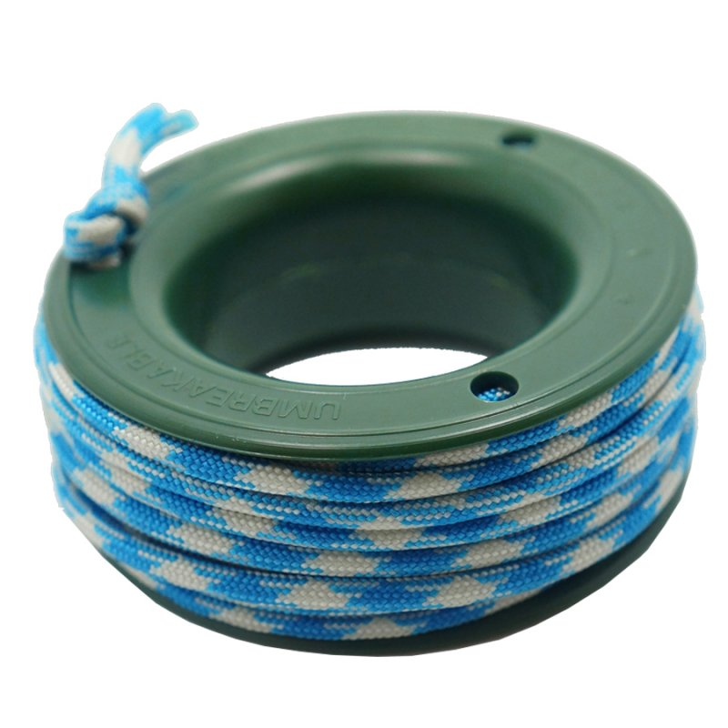 550 PARACORD MINI SPOOL - CYAN WHITE CAMO - Hock Gift Shop | Army Online Store in Singapore