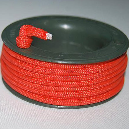 550 PARACORD MINI SPOOL - DARK ORANGE - Hock Gift Shop | Army Online Store in Singapore