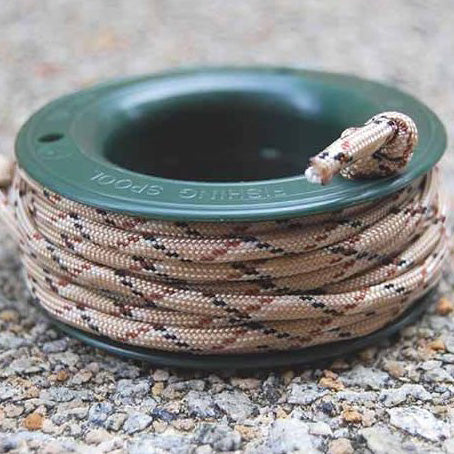 550 PARACORD MINI SPOOL - DESERT CAMO - Hock Gift Shop | Army Online Store in Singapore
