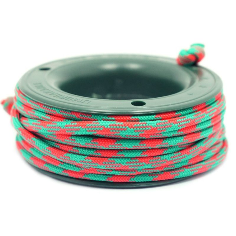550 PARACORD MINI SPOOL - EMERALD ORANGE CAMO - Hock Gift Shop | Army Online Store in Singapore