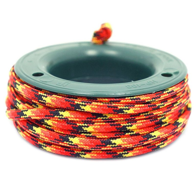 550 PARACORD MINI SPOOL - FIERY CAMO - Hock Gift Shop | Army Online Store in Singapore