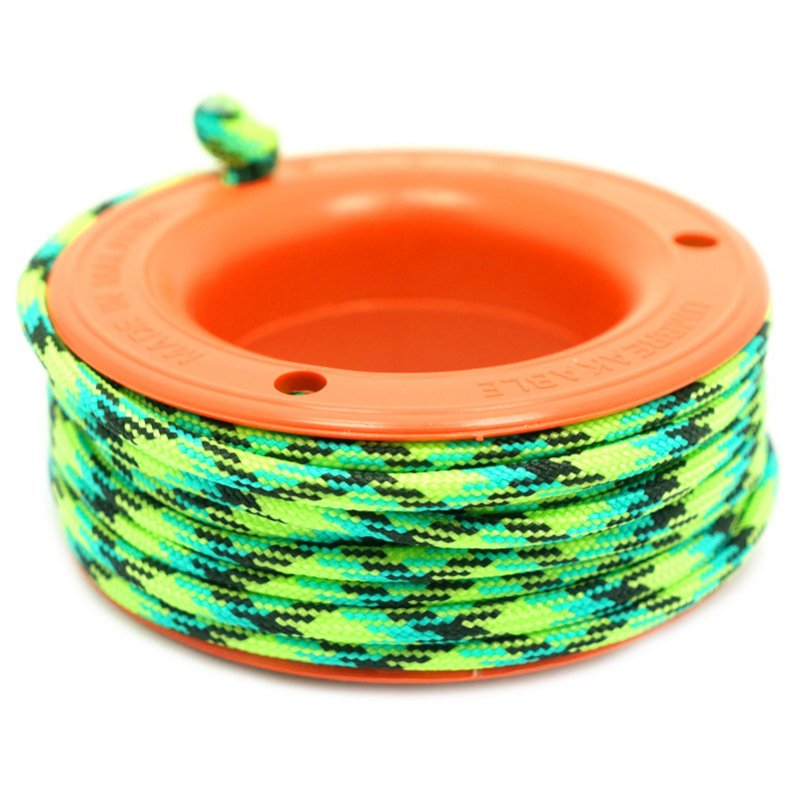 550 PARACORD MINI SPOOL - GECKO - Hock Gift Shop | Army Online Store in Singapore