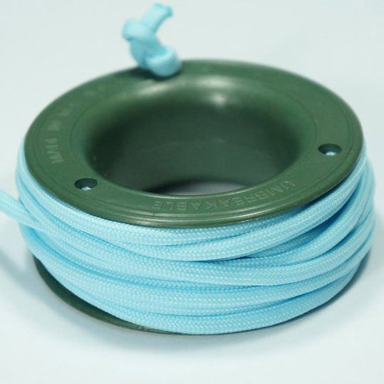550 PARACORD MINI SPOOL - GLOW BLUE - Hock Gift Shop | Army Online Store in Singapore