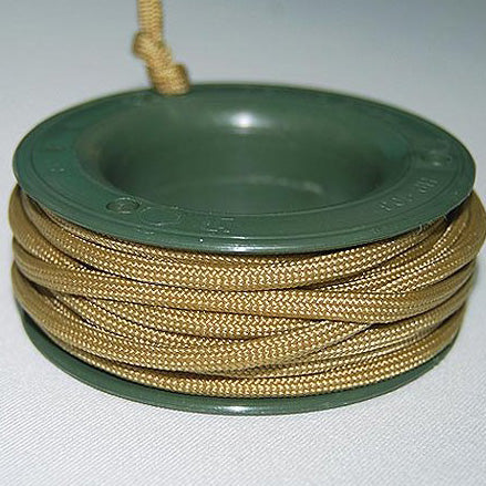 550 PARACORD MINI SPOOL - GOLDEN - Hock Gift Shop | Army Online Store in Singapore