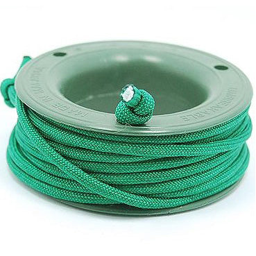 550 PARACORD MINI SPOOL - GRASS GREEN - Hock Gift Shop | Army Online Store in Singapore